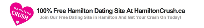 Our Hamilton dating site homepage - hamiltoncrush.ca